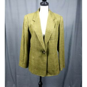 Ellen Tracy Company 100% Silk Jacket Size 10